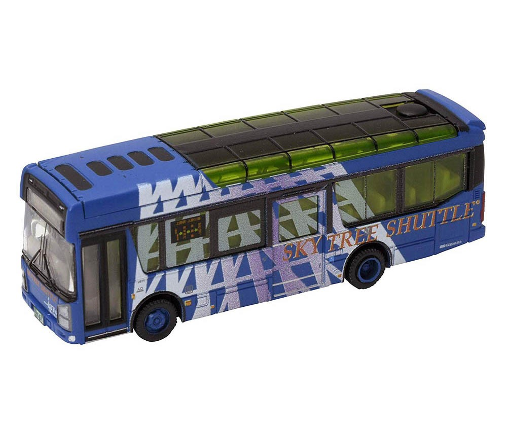 [Tomytec] The Bus Collection Let go Bus-Colle 12 Tokyo Sky-tree Toubu Bus Central Sky-tree Shuttle