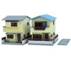 [Tomytec] The Building Collection 041-4 Contemporary Townhouses (Built-For-Sale House B4)