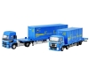 [Tomytec] 1/150scale The Truck & Trailer Truck Collection Japan Freightliner Container Truck Trailer Set