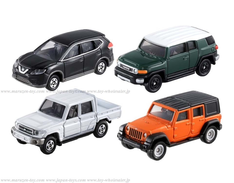 TakaraTomy Drive to the Mountain! Off-road Car Set