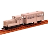 [Tomytec] 1/80scale Tetsudo(Train) Collection Narrow Gauge80 Tobetsu Kani-Kidou(Simplicity Railway Track)  Diesel locomotive + Towing Passenger Car Set