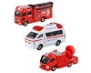 [TakaraTomy] Tomica Gift Emergency Service! Fire Fighting Vehicle Set