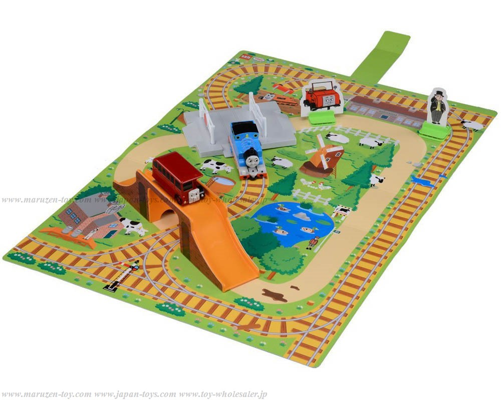 [TakaraTomy] Thomas Tomica Thomas and Friends Connected 3D-Map Thomas & Bertie Competition Set