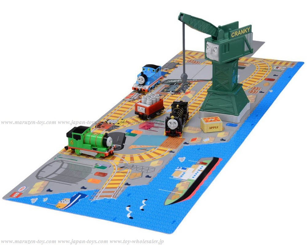 [Takara Tomy] Tomica Thomas Thomas and Friends Connected 3D-Map Hiro & Cranky Loading and unloading Set