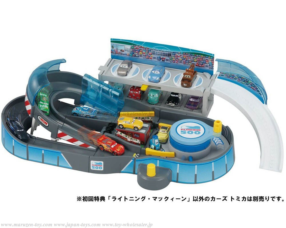 TakaraTomy Cars Tomica Turning Racing! 2way Circuit(First Release Limited with Lightning McQueen)