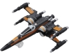 [TakaraTomy] Tomica Star Wars TSW-04 X Wing Fighter Poe Dameron Machine(The Last Jedi)