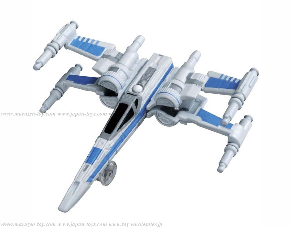 [TakaraTomy] Tomica Star Wars TSW-06 Resistance X Wing Fighter