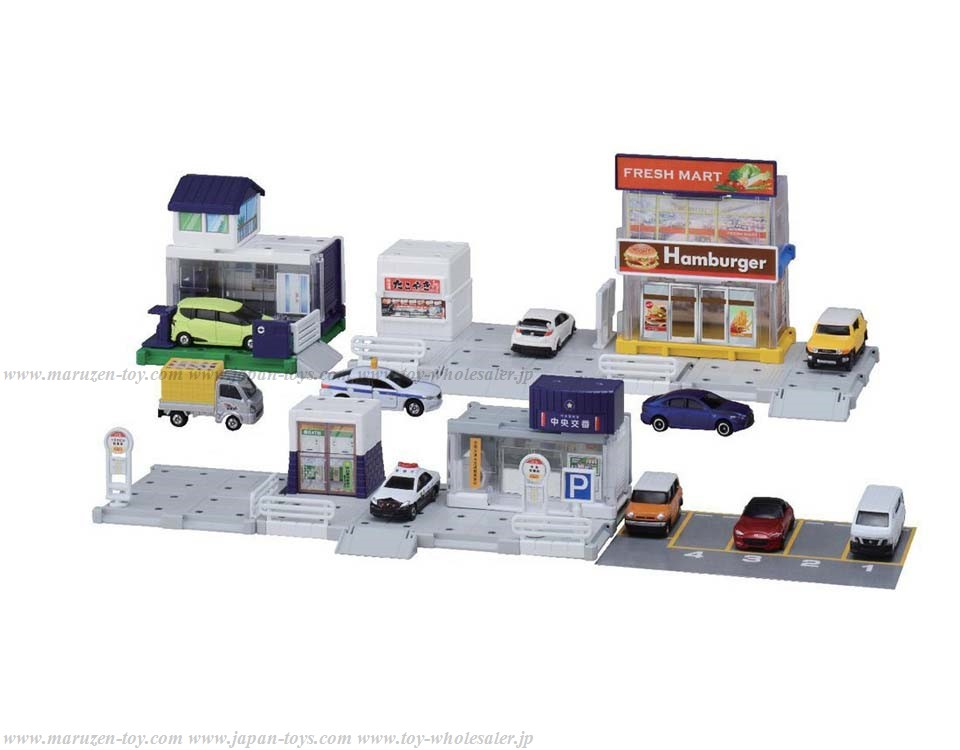 Takara Tomy Tomica Gift/Tomica World/Tomica Dystem Tomica Town Build City - Let's Build City! Basic Path Set