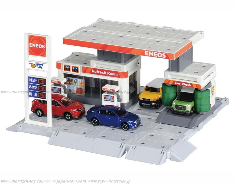 [TakaraTomy] Tomica Tomica Town Build City Gas Stand (ENEOS)
