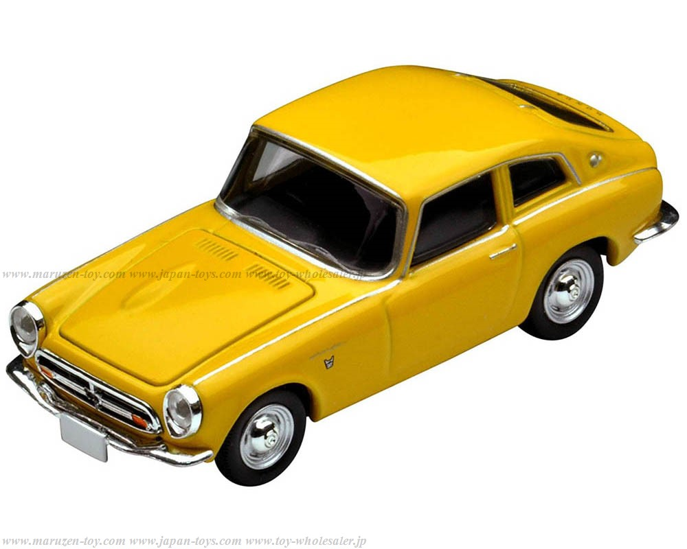 [Tomytec] Tomica Limited Vintage NEO LV-125e HONDA S600 Coupe(Yellow)