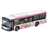 [Tomytec] The Bus Collection Keisei Bus Rika' favorite Town KATSUSHIKA Wrapping  Bus (Pink ver.)
