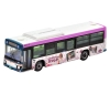 [Tomytec] The Bus Collection Keisei Bus Rika' favorite Town KATSUSHIKA Wrapping  Bus (Purple ver.)