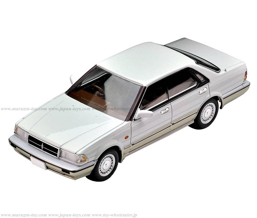 [Tomytec] Tomica Limited Vintage NEO LV-N43-24a NISSAN Cedric V30 Turbo Brougham VIP(White&Beige)