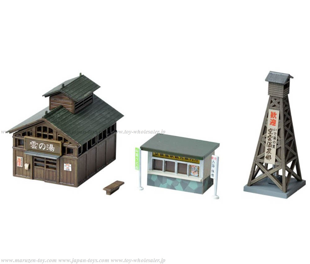 [Tomytec] Scene Goods 106-2 Onsen(Hot Springs) Town goods 2