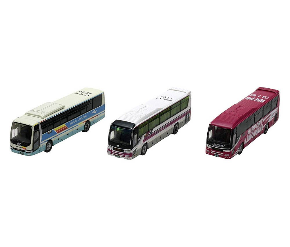 [Tomytec] The Bus Collection Osaka International Airport(ITM) Bus set A