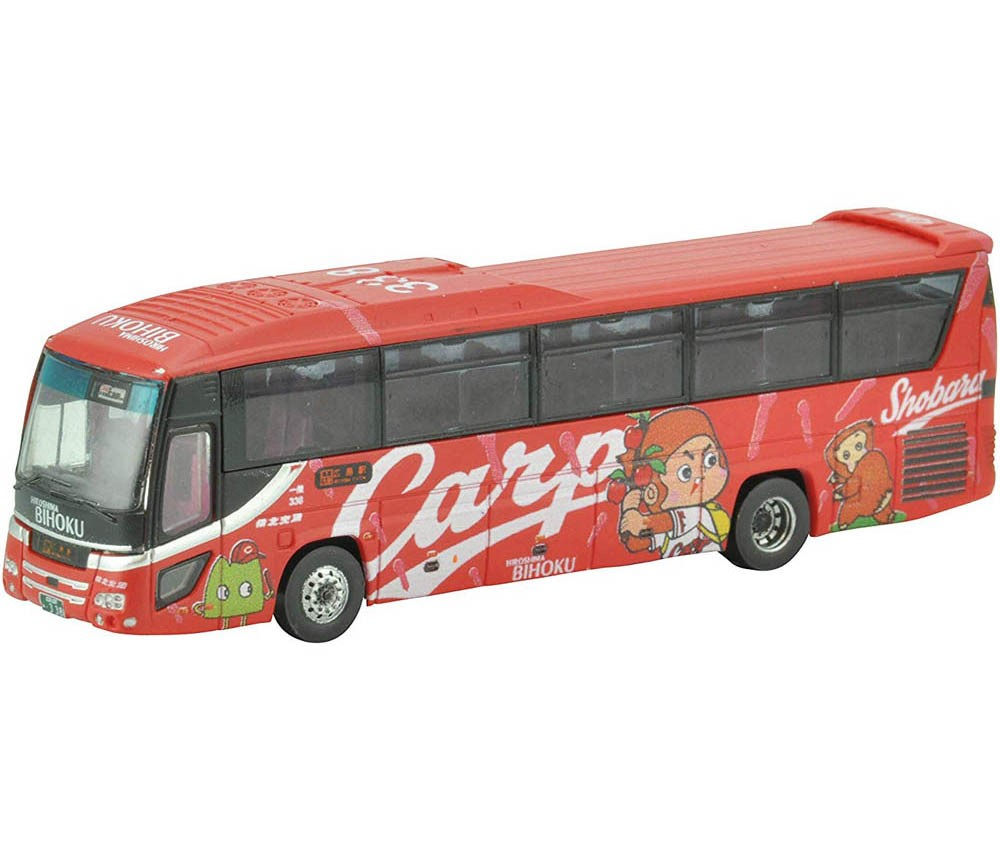 [Tomytec] The Bus Collection Bihoku Kotsu Carp Wrapping Bus