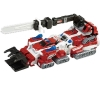 [TakaraTomy] Tomica Hyper Rescue Drive Head Synchro Gattai Series: Rescue Bulldozer & Rescue Chainsaw Docking Mode Set
