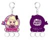 [TakaraTomy] The Snack World - Jyara tto Put! Rubber Key Holder Mayoko