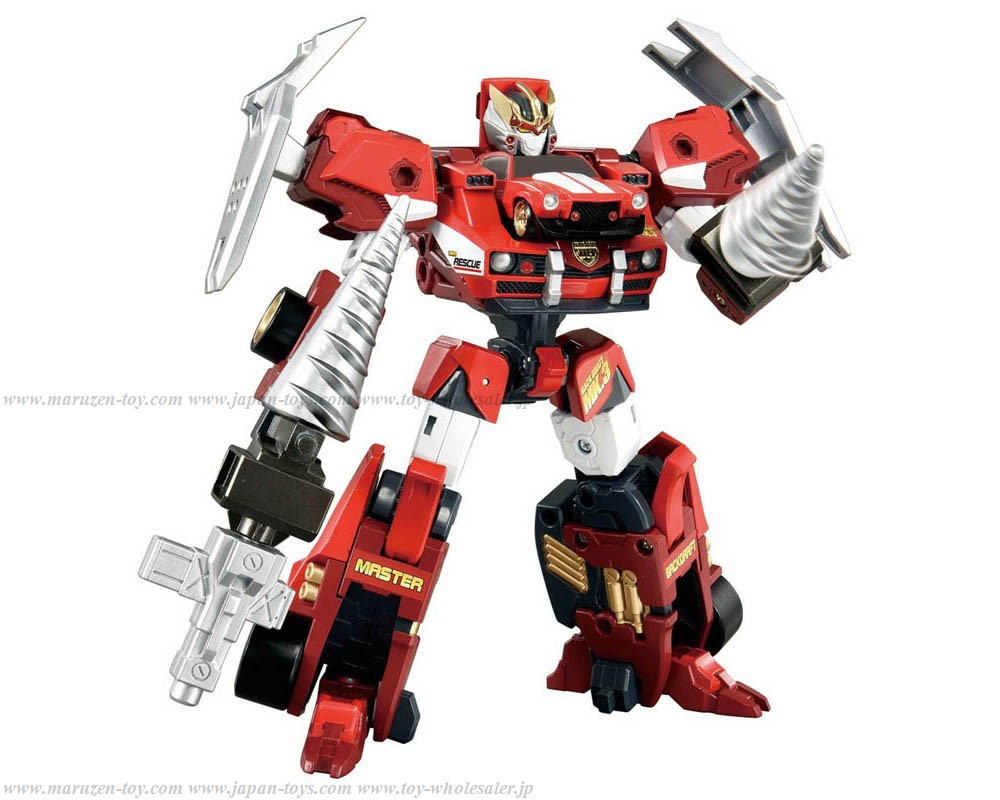 [TakaraTomy] Tomica Hyper Rescue Drive Head Drive Head02 MKIII Master Backdraft