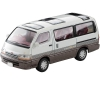 [Tomytec] Tomica Limited Vintage NEO LV-N208a TOYOTA Hiace Super Custom Limited(White Brown)