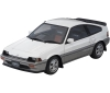 [Tomytec] Tomica Ignition Model T-IG1812 HONDA Ballade Sport CR-X Si(White/Gray)
