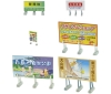 [Tomytec] 1/150scale Diorama Accessories 058-3 Signboard on the field 3