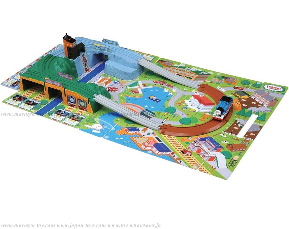 TAKARA TOMY PLA RAIL Thomas & Friends Going Out 3D Map