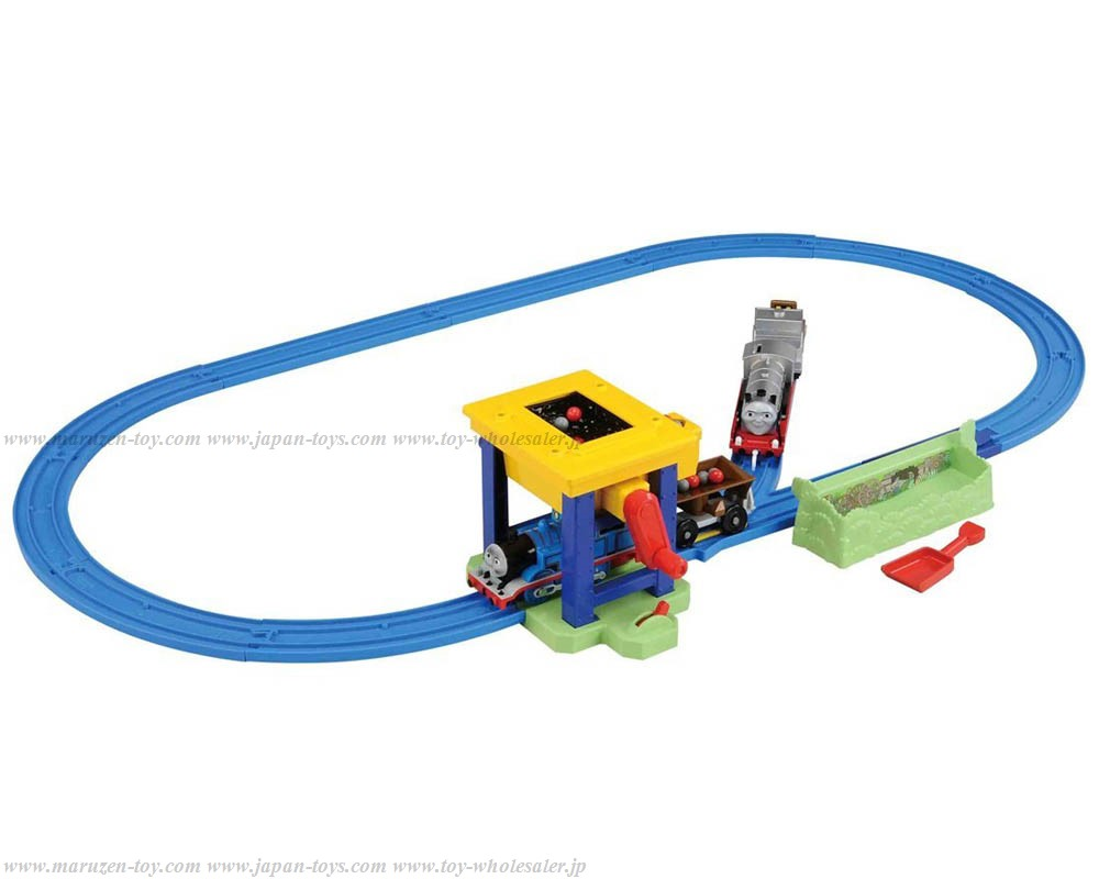[TakaraTomy] PLA RAIL Thomas & Friends Guru-guru Rounding! Thomas and Merlin Coal Hopper Set