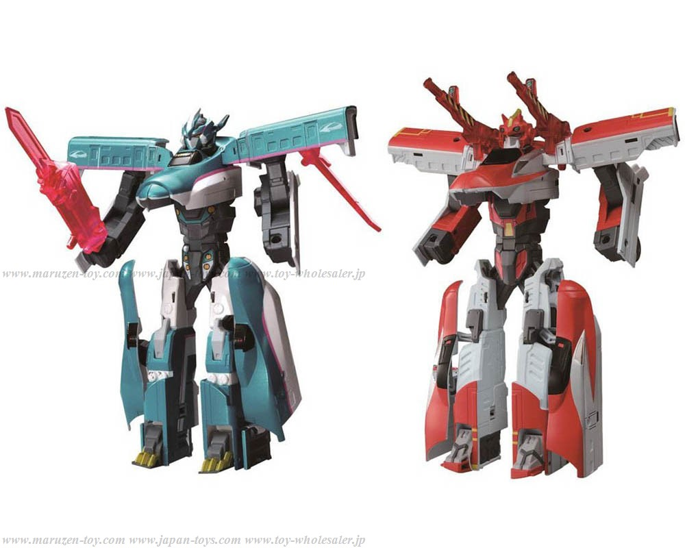 [TakaraTomy] Shinkansen Henkei Robo Shinkarion DXS Shinkalion E5&E6 Super Connect set
