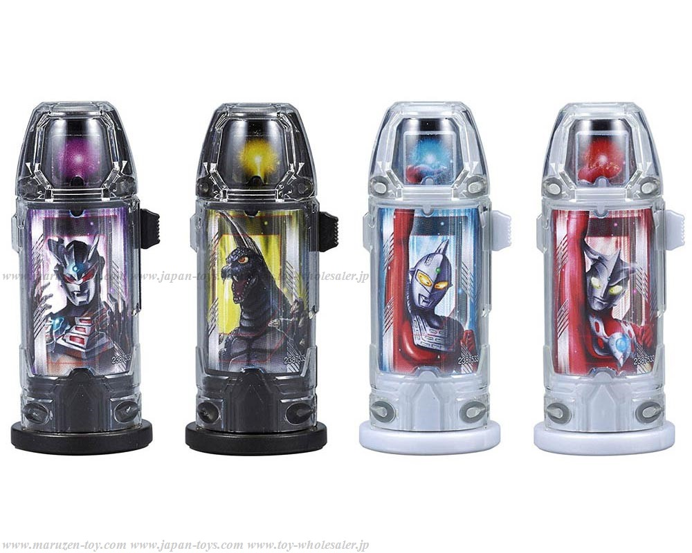 Bandai Ultraman Geed DX Ultra Capsule Holder Solid Burning Set