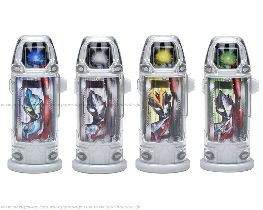Bandai Ultraman Geed DX Ultra Capsule Holder New Generation Heroes Set