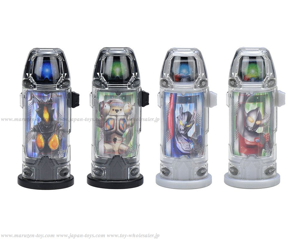 Bandai Ultraman Geed DX Ultra Capsule Holder Magnificent Set