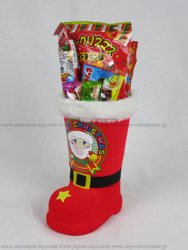 Christmas Boots with Snack