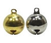 16mm Good-Luck Charm Bell (Silver)