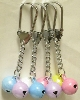 13mm Good-Luck Charm Twin Bells with Key Holder
